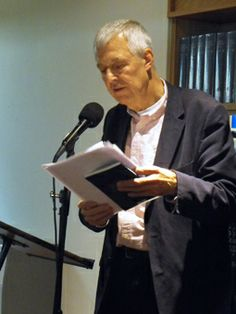 Peter Ebsworth reading at Brittle Star Launch, Barbican Library Nov 2013 Brittle Star, Star Magazine, Barbican, Product Launch, Stars, Reading, Sterne, Reading Books