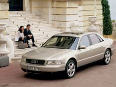 2001 Audi A8 Old School Cars, Audi A8, Car In The World, Car Ins, Modern Classic, Mercedes Benz, Teen, Garages, Legends