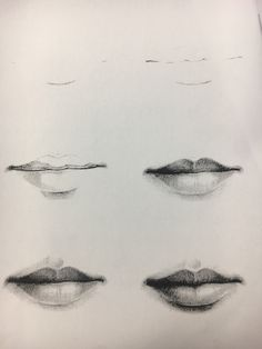 mouth drawing drawings lips pencil realistic draw sketch mouths sketches easy nose eyes techniques tips human visit