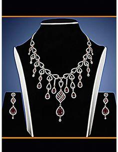 Buy Unique Charm Necklace Set Online. http://www.bharatplaza.com/new-arrivals/jewellery.html