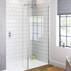 1400x250mm - 8mm - Premium Wetroom Panel & Return Panel