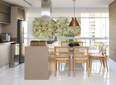 Kitchen Sets, Home Decor Kitchen, Home Kitchens, Kitchen Design, Flat Interior, Interior Design, Kitchen Island With Seating, New Kitchen Cabinets, Stylish Kitchen