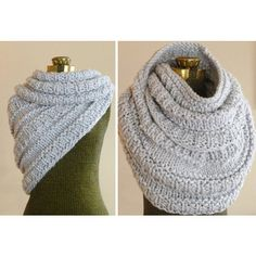 Huntress Cowl, Hand Knit Cowl, Infinity Scarf, Knit Circle Scarf,... (£89) ❤ liked on Polyvore featuring accessories, scarves, chunky infinity scarf, infinity loop scarf, chunky knit scarves, circle scarf and knit infinity scarf
