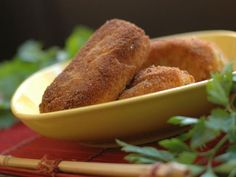 Get Potato Croquette Recipe from Cooking Channel
