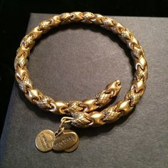"""A&A Gold Wrap Bracelet -Vintage Collection Alex and Ani gold """"Vintage Collection wrap bracelet in excellent condition.  Maybe worn once only? Alex & Ani Jewelry Bracelets"""