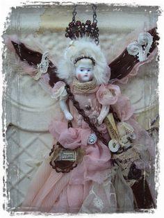 Pink Dreams Art Doll