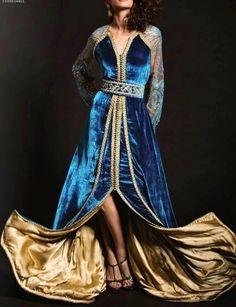 C'est une robe très spécialement qu'on présente pour nos clientes qui cherchent les nouveaux modèles du caftan 2015 en velours - takchita mobra haute couture à vendre