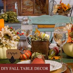 From the small details all the way to the centerpiece, we have the tips and tricks you need to create a stunning Thanksgiving tablescape! Diy Thanksgiving Centerpieces, Thanksgiving Tablescapes, Fall Table Decor Diy, Table Decorations, Hobby Lobby Fall Decor, Homemade Cleaning Products, Vase Centerpieces, Diy Projects Videos, Halloween Food For Party