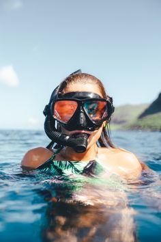 using snorkel masks for good costume props