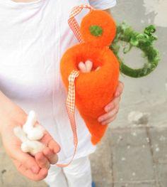 Waldorf inspired bag/toy