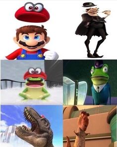 Mario odyssey stole from meet the robinsons confirmed
