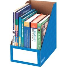 Bankers Box® Magazine File Holders provide extra wide storage for organizing oversized materials. Holds magazines, catalogs, file folders, project binders, and text books. Perfect for shared classroom storage or teacher desktop storage. Magazine File Holders, Office Supply Organization, Classroom Organization, Classroom Decor, Classroom Layout, Toy Organization, Organization Ideas, Magazine Files, File Organiser