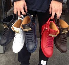 My newest obsession. Buscemi sneakers!!