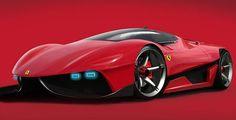 Cars Concept Ferrari EGO  for 2025: Het in my driveway!!!!!