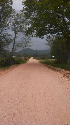 Dirt road @ Bass Arkansas.  Red dirt.  We used to play with it as red clay when it rained.