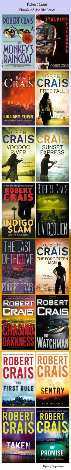 Robert Cras - Elvis Cole and Joe Pike crime mystery series