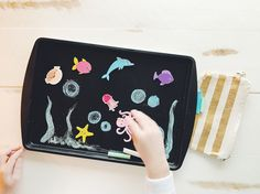 Travel Tricks: DIY Magnetic Chalkboard