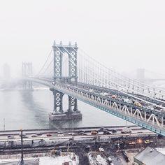 Manhattan Bridge in NYC / photo by gmp3