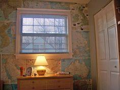 A DIY kid's room makeover – MAPS!