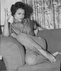 Eartha Kitt - (1927 - 2008) ...A unique person and very talented artist.