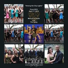 Image Detail for - Prom Scrapbook Layouts