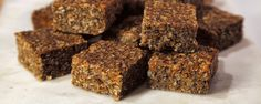 These breakfast bars are delicious & nutritious!