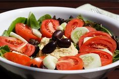 Hummus Salad Recipe Link: blog.fatfreevegan.com Click here for more healthy recipes!