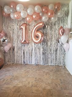 Gold Birthday Party, Birthday Party For Teens, 14th Birthday, Sweet 16 Birthday, Birthday Balloons, Hotel Birthday Parties, Birthday Ideas, Birthday Backdrop, Birthday Outfits