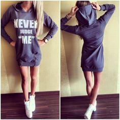 Find More Dresses Information about New Arrival Winter Dress 2015 Vintage Letter Printed Hooded Dresses Sport Woman Long Sleeve Casual Zipper Dresses ,High Quality dress curve,China dresses selling Suppliers, Cheap dress smart from Fashion Magical on Aliexpress.com