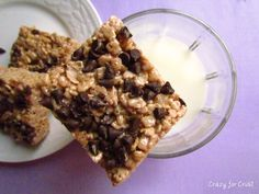 Brownie Batter Crispy Treats