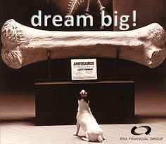 There are no small dreams ...