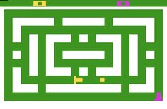Slot Racers - Best game ever in Atari, yo are a T and you have to defeat the other T shooting squares, really fun and competitive