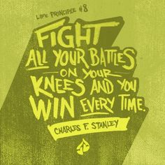 Inspiration quotes by Charles Stanley, Prayer, wall art