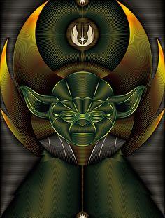 Jedi Order - Star Wars Art Print by Nathan Owens