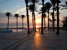 Gai Beach Hotel, Tiberias, Israel - Sunrise on the Sea of Galilee - Photo: Bruce Bryant