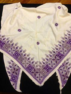 Hesap isi .***** Cross Stitch Charts, Cross Stitch Designs, Cross Stitch Patterns, Knitting Patterns, Sewing Patterns, Embroidery Scarf, Cross Stitch Embroidery, Palestinian Embroidery, Bargello