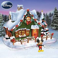 disney holiday village collection collectible christmas decoration