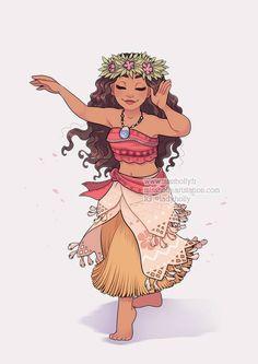 Princesses Fanarts Moana by HollyBell Disney Princess Drawings, Disney Princess Art, Disney Princess Pictures, Disney Pictures, Disney Drawings, Drawings Of Princesses, Disney Fan Art, Arte Disney, Disney Disney