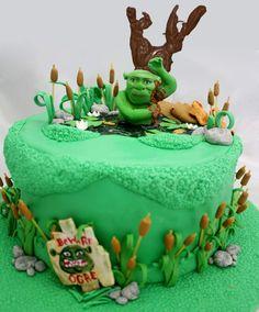 shrek+birthday+   Shrekcake - Cake Decorating Community - Cakes We Bake