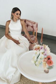 Photo from Lisa Brown Styled Shoot collection by Alecia van Aarde Brown Fashion, Sd, Formal Dresses, Inspiration, Collection, Style, Tea Length Formal Dresses, Biblical Inspiration, Swag
