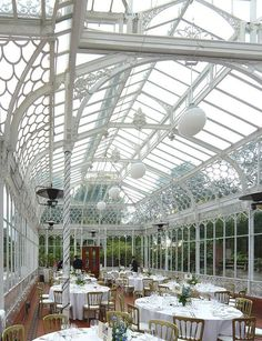 Choose Horniman Museum, a quirky South London destination, for your wedding… #conservatorygreenhouse