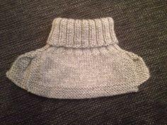 Hals til barn (med oppskrift) – Strikkefrue