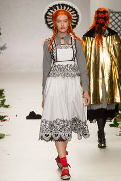 Meadham Kirchhoff Spring 2014 RTW - Review - Fashion Week - Runway, Fashion Shows and Collections - Vogue