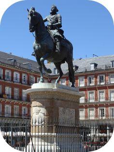 El Plaza Mayor in Madrid
