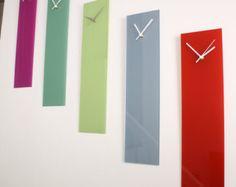 gloss black wall clock wall clock black glassmodern wall art