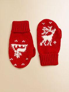 Warm woolen mittens . . .  Ralph Lauren - Reindeer Mittens  http://www.saksfifthavenue.com/main/ProductDetail.jsp?PRODUCT%3C%3Eprd_id=845524446536271=883288580903_name=Ralph+Lauren=13B248E94FB5=mittens=0=jIy5g86