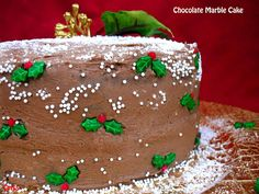 ALIMENTA: CHOCOLATE MARBLE CAKE