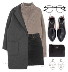 """""""Sin título #147"""" by awayfromnewyork ❤ liked on Polyvore featuring Topshop, Acne Studios and MANGO"""