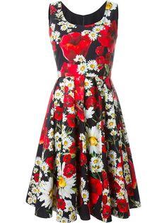 Dolce & Gabbana Vestido godê floral