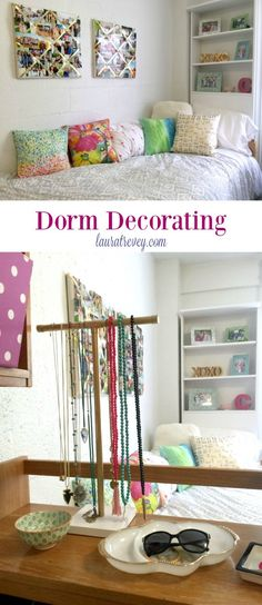 Dorm Decorating #DormGoals | College Life